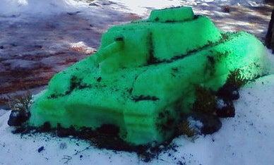 Snow Panzer Tank