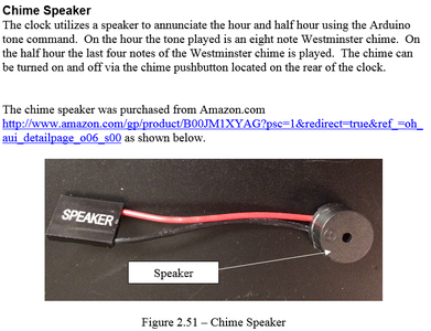 Components - Chime Speaker