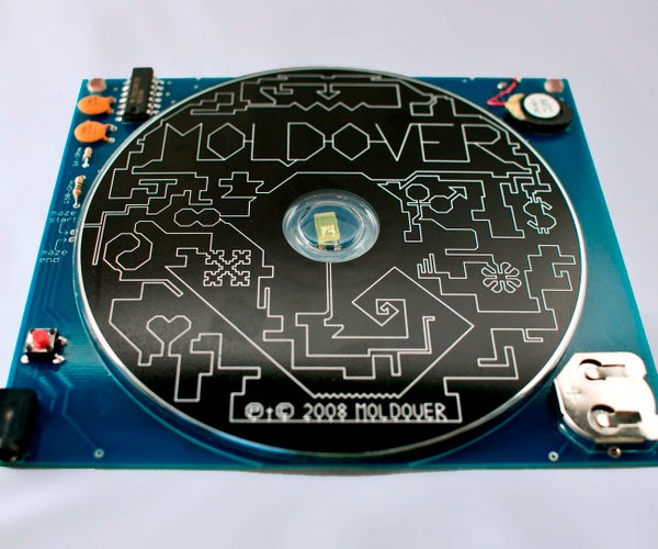 Moldover's Light-Theremin CD (DIY Version)
