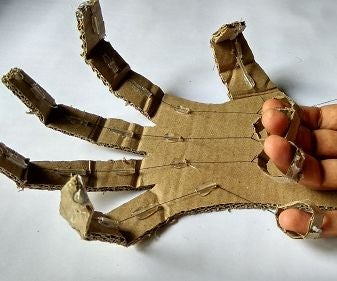 Robotic Arm From Cardboard