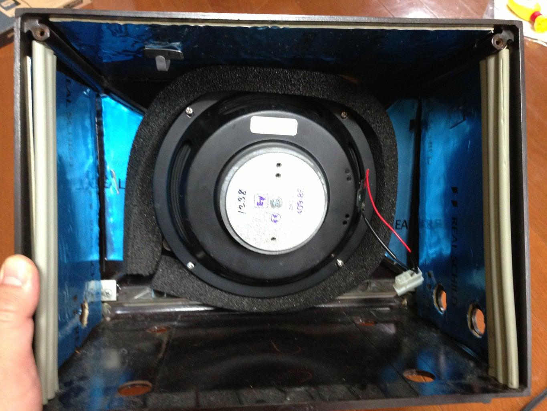 Install Speaker, Deaden the Case