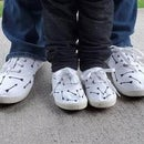 Mommy and Me Matching Shoes With Cricut and Easy Press Mini
