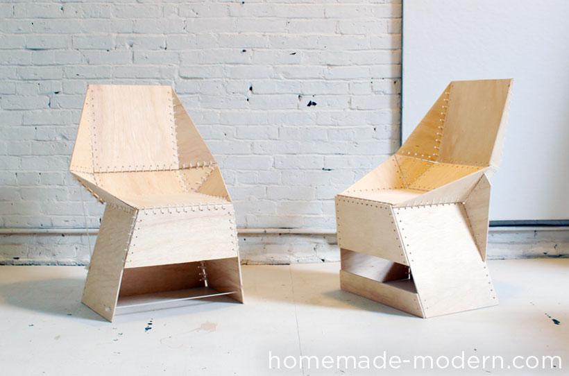 HomeMade Modern DIY The ZipStich Chair