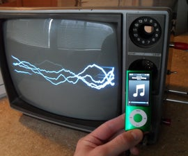 Fully Functional Television Oscilloscope