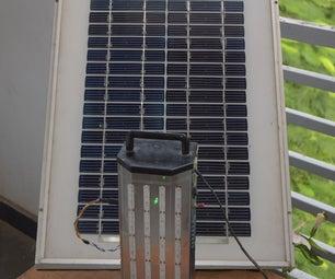 Solar LED Rechargeable Emergency Light