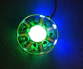 Uranium Glass Marble Ring Oscillator