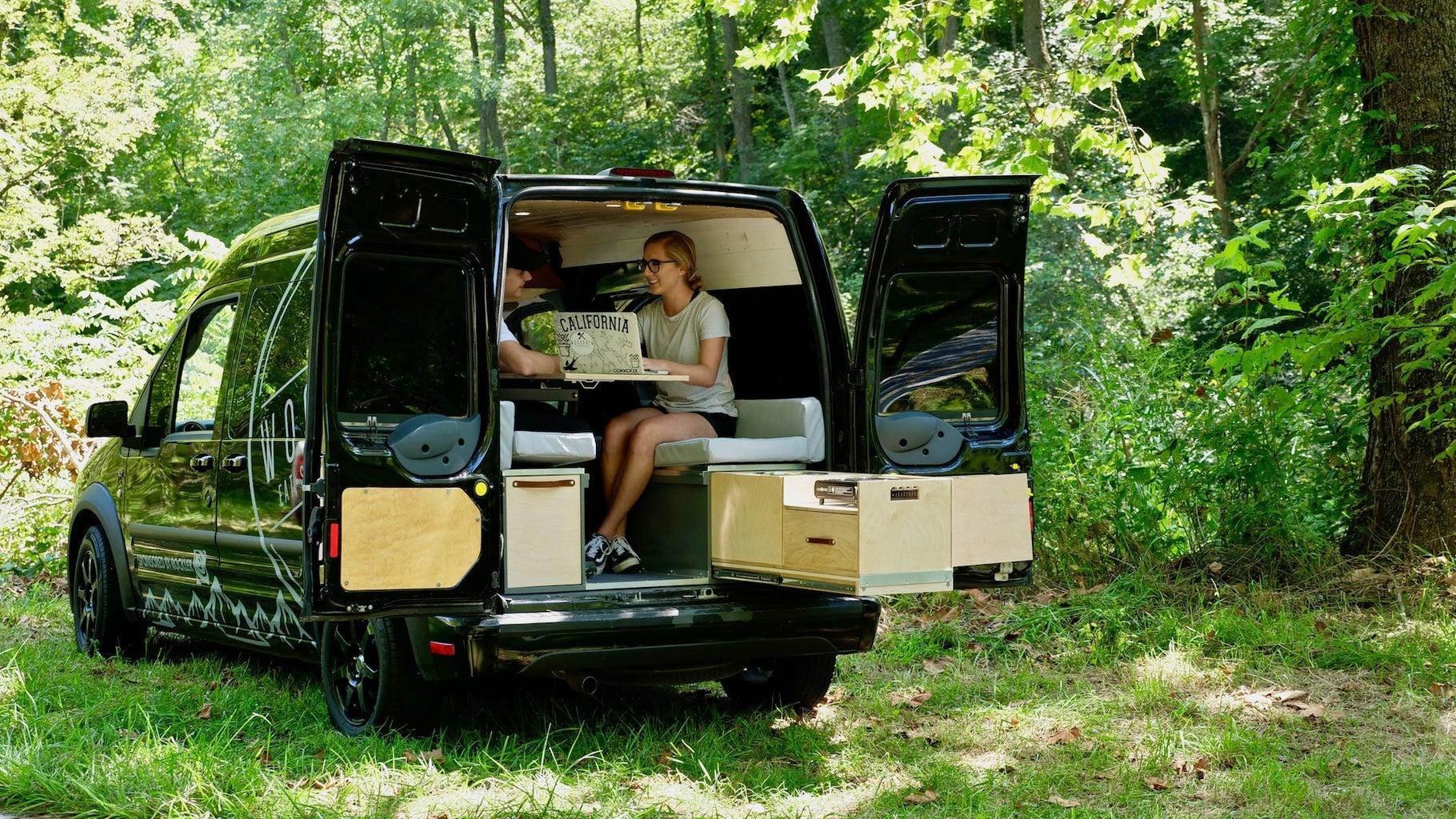 DIY Van Slide Out Storage #VANLIFE