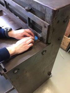 Cutting the PCB