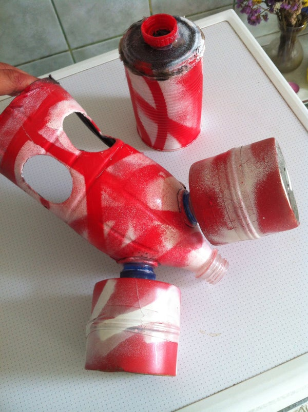 DIY Gas Mask Prop