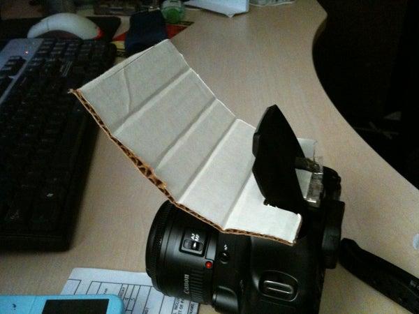DIY On-camera Flash Bounce / Reflector