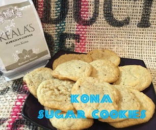 Kona Sugar Cookies