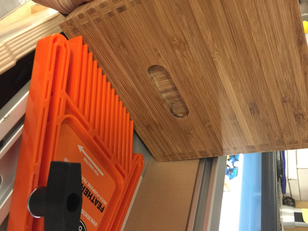 Cuts: to Size, Mini Dovetails and Slots and Finger Slots