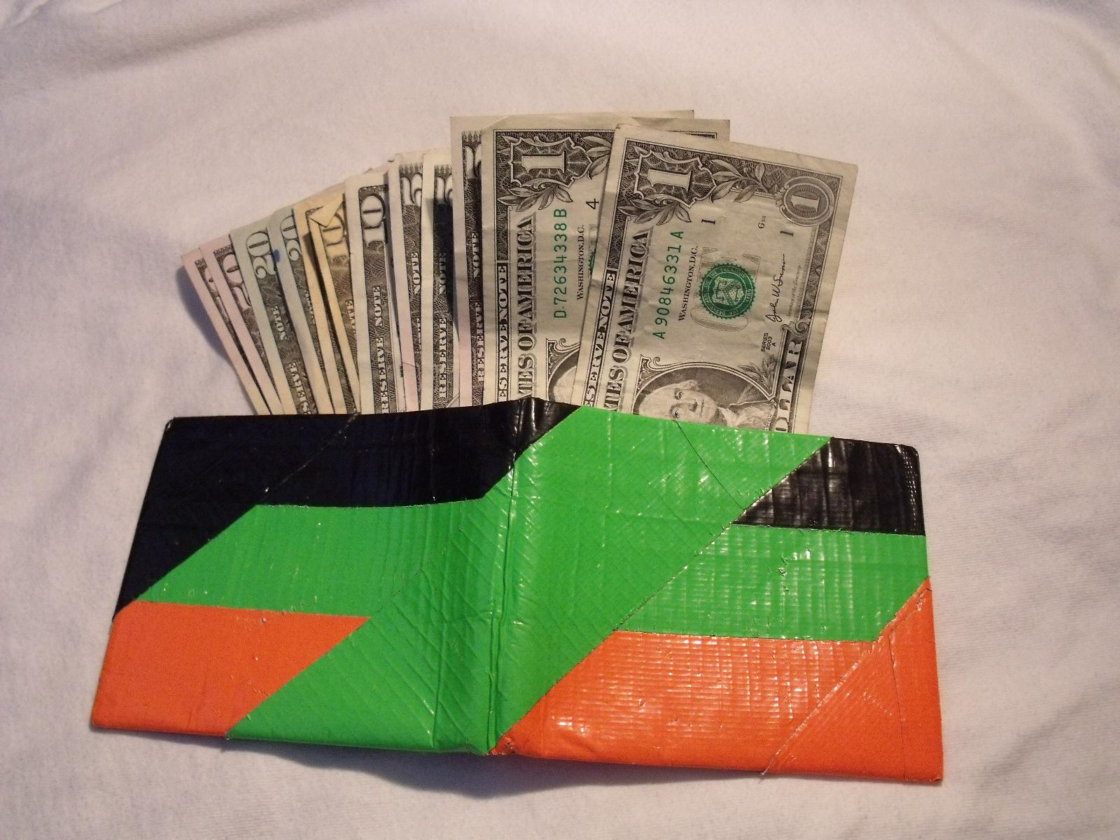 Duck Tape Wallet