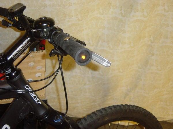 Automatic Bicycle Handlebar End Lights