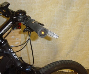 Automatic Bicycle Handlebar End Lights