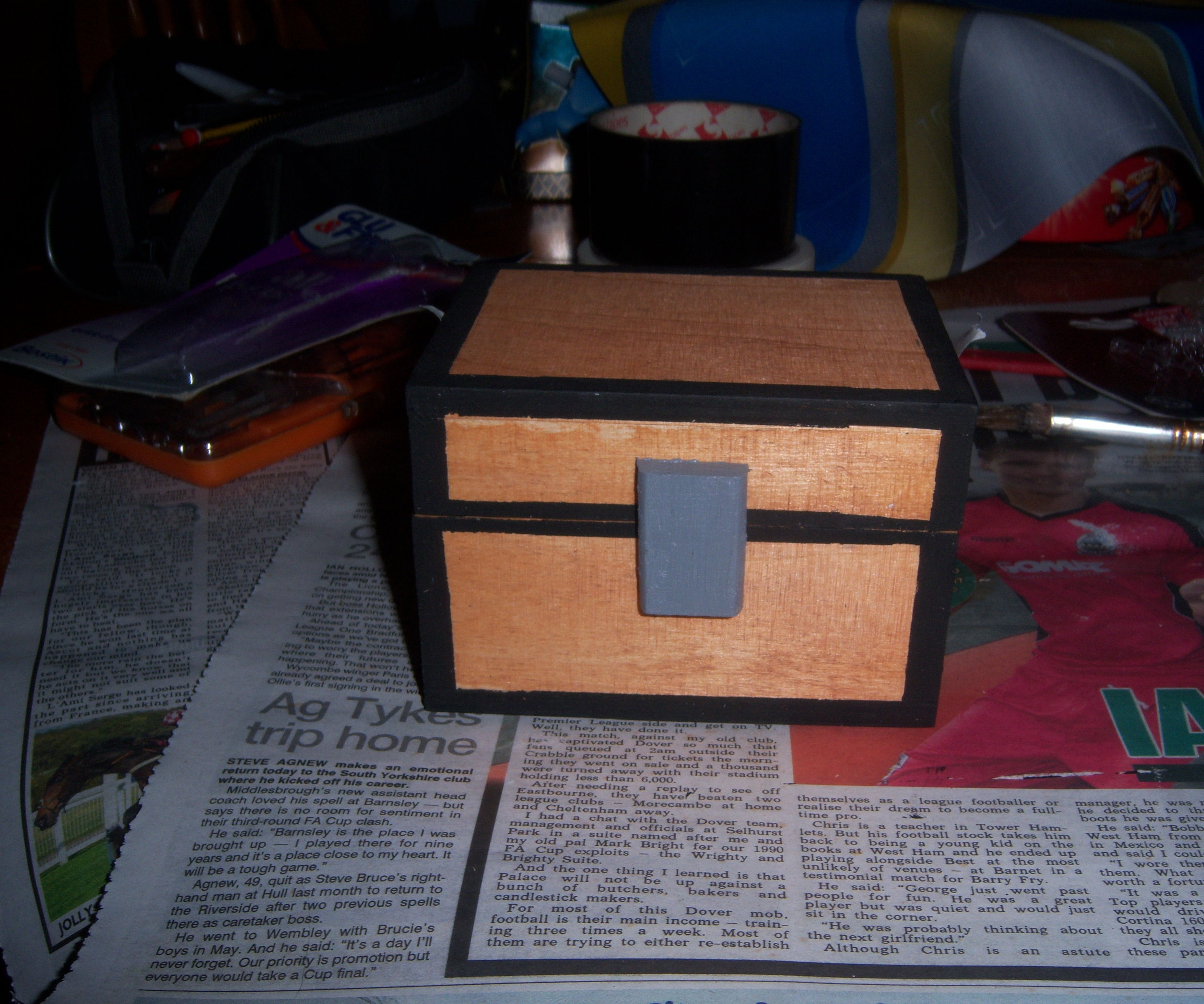 Wooden Minecraft Chest