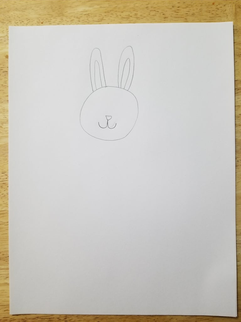Draw the Nose and Mouth