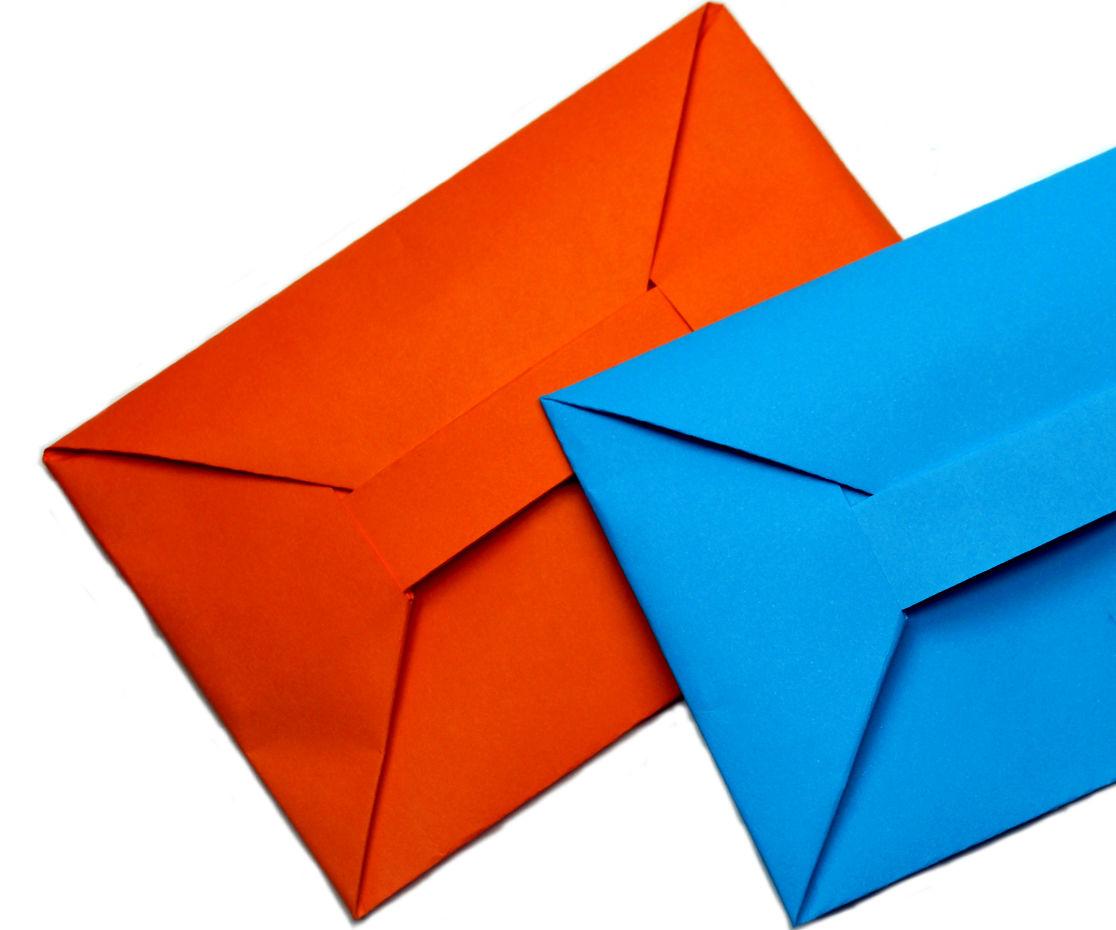 DIY - Easy origami envelope tutorial