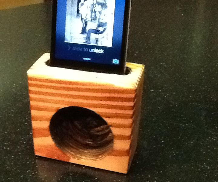 Passive 2X4 IPhone Speaker