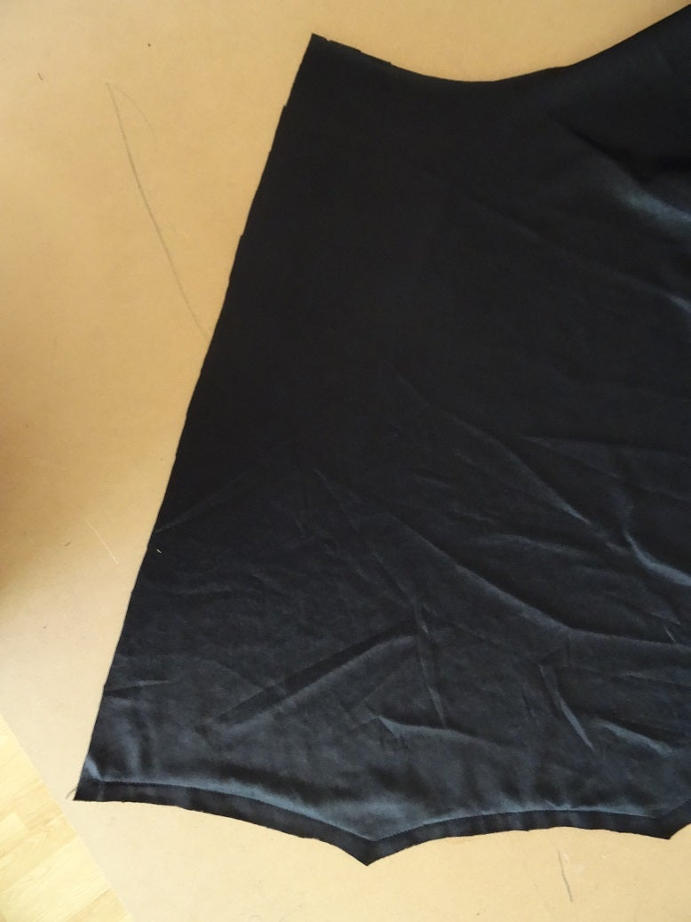 Sewing the Top and the Bottom of the Dress.