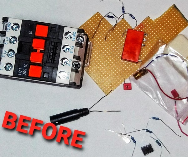DIY Security Laser Alarm System Prototype