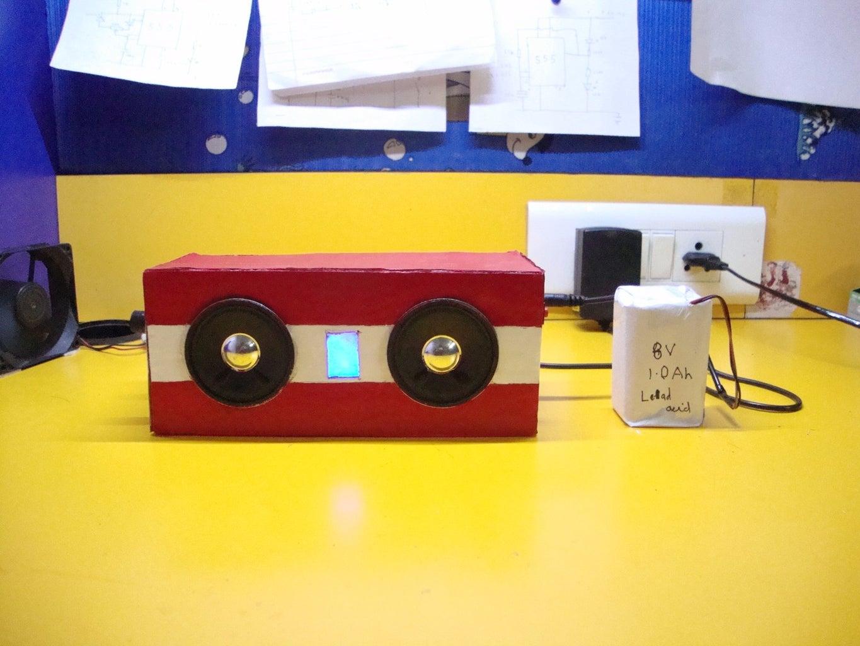 DIY Travel Speakers