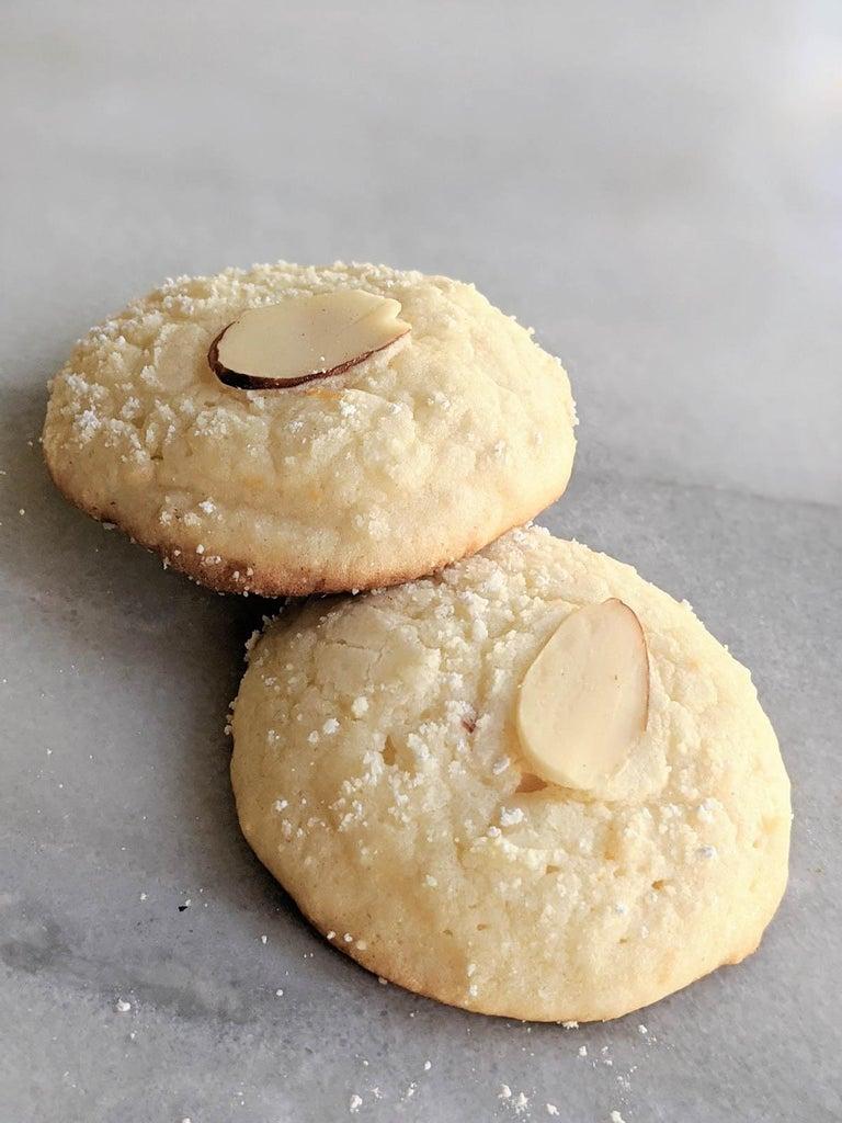 Blue Ribbon Lemon Almond Cookies