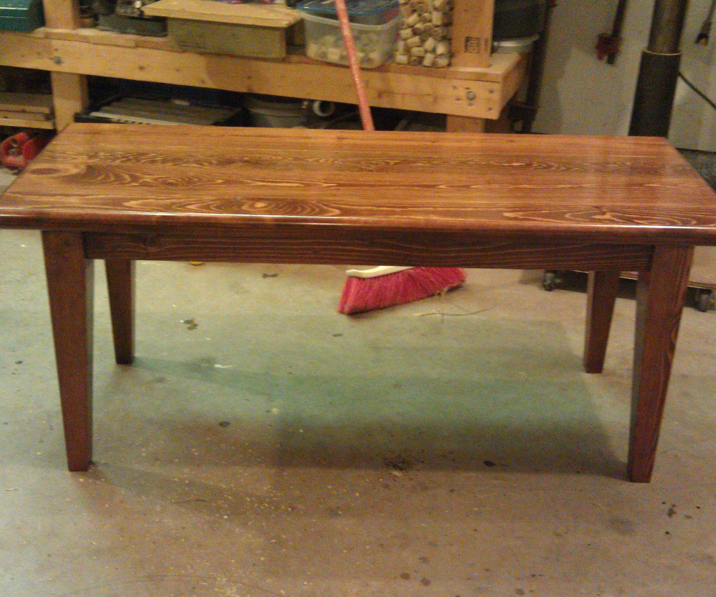 Coffee Table by: Wood Crow