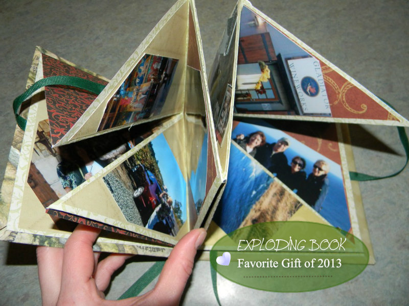 HOW TO MAKE AN EXPLODING SCRAPBOOK