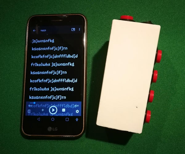 Bluetooth Remote for Teleprompter