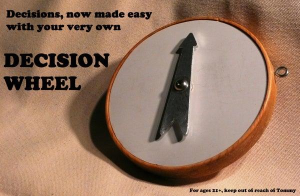 Dry Erase Decision Wheel