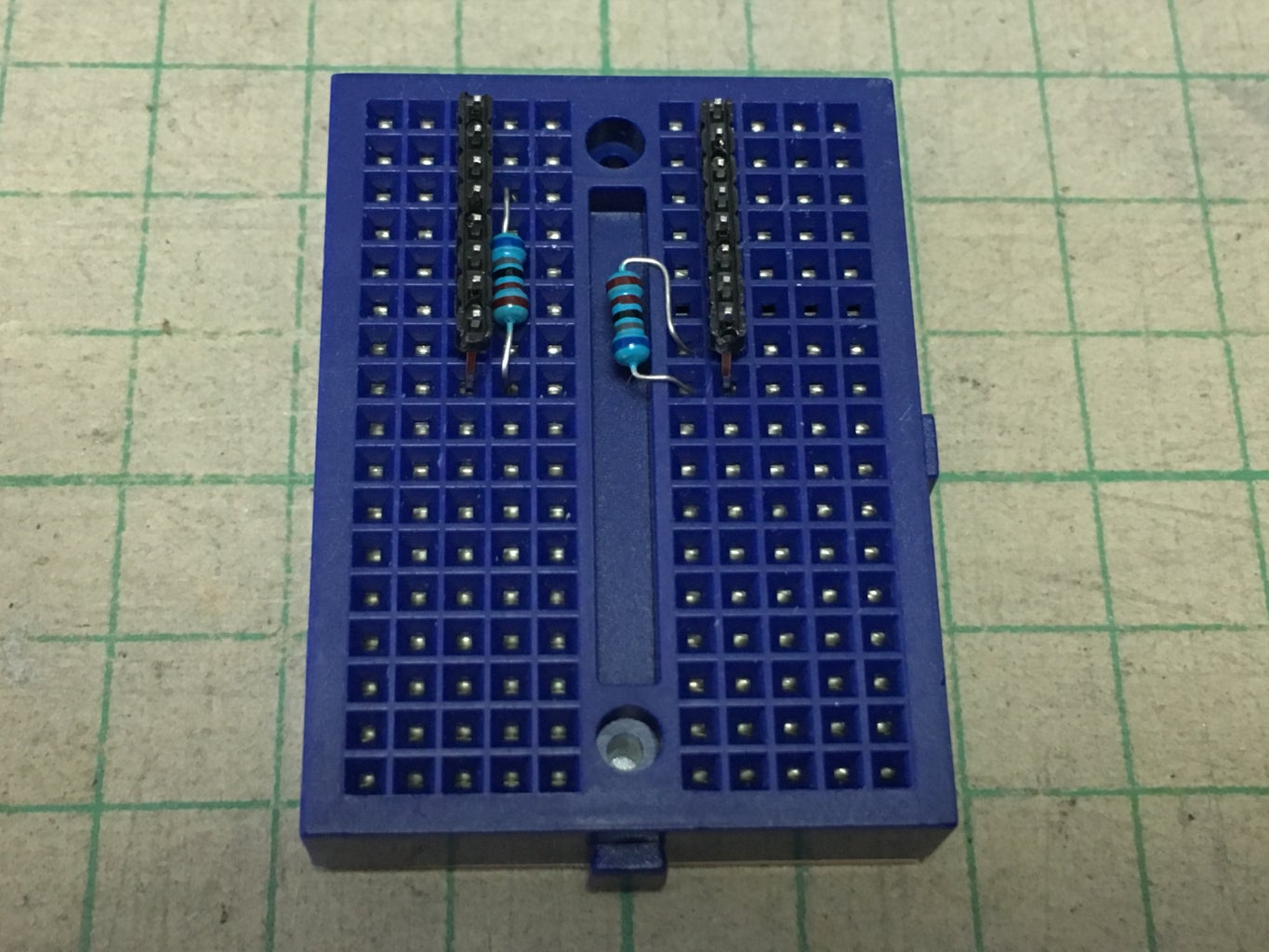 Install Pull Up and Pull Down Resistor