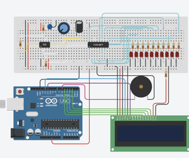 Arduino Song Player Using 555 and Decade Counter