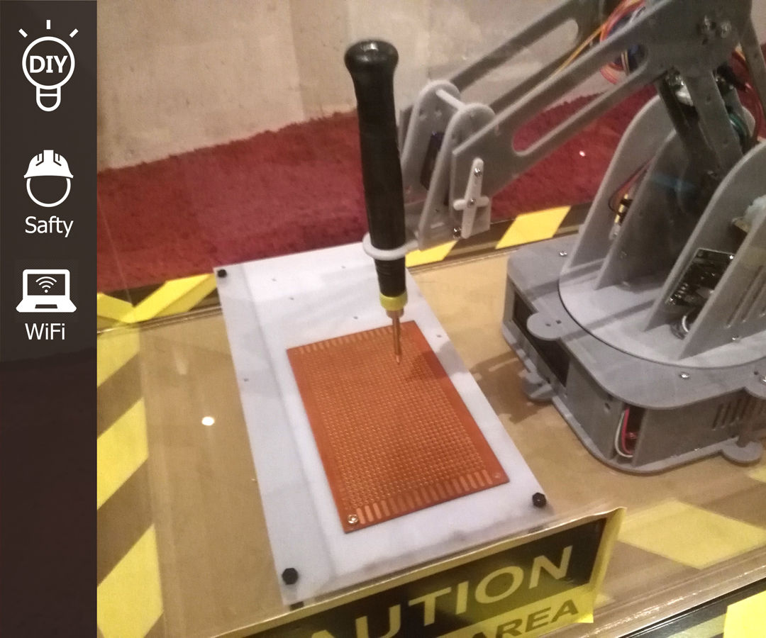 Automated Soldering Robotic Arm