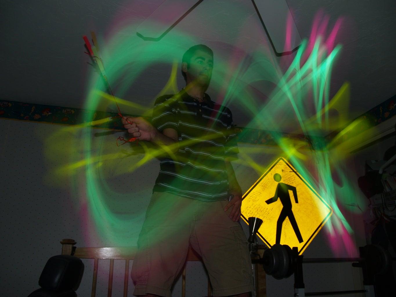 Creative Glow Stick Photography