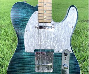 制作一个套件吉他惊人!