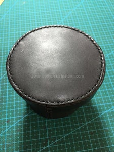 Sew Lid With Lid Gusset.