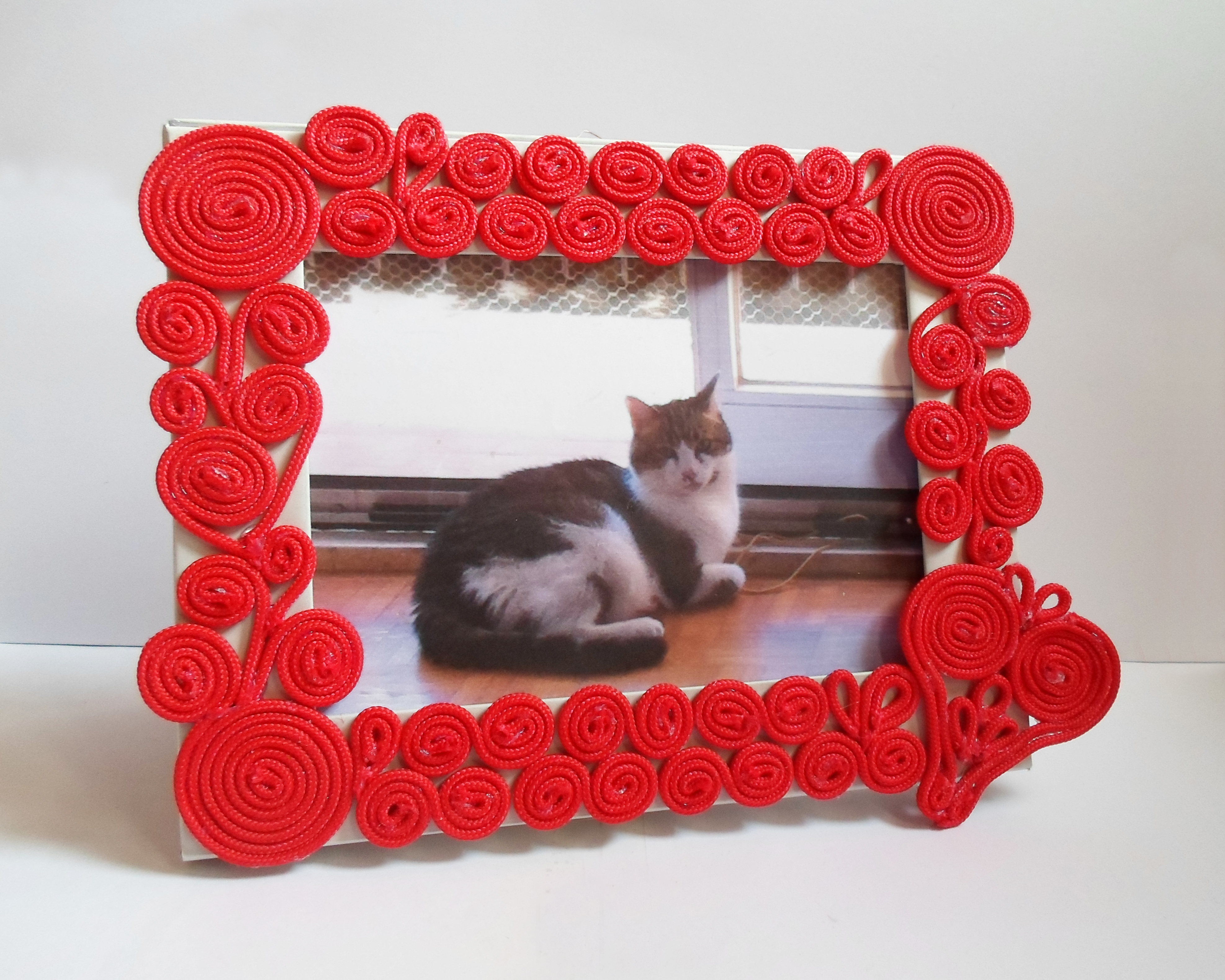 Photo Frame with Hidden Compartment