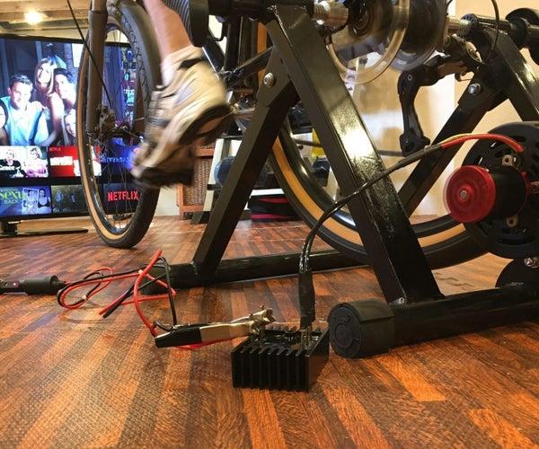Best Design DIY Bike Trainer Generator