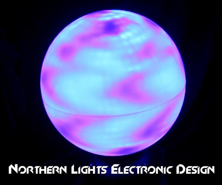 Spherical LED Matrix - Sphere Shaped LED Screen From LED Pixel Strip