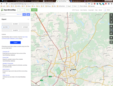 Using Openstreetmap.org and Maperitive