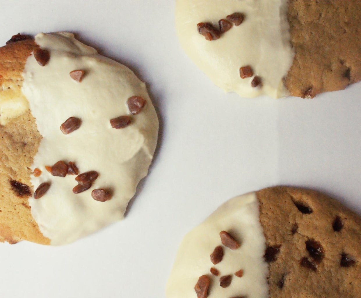 White Chocolate Butterscotch Cookies