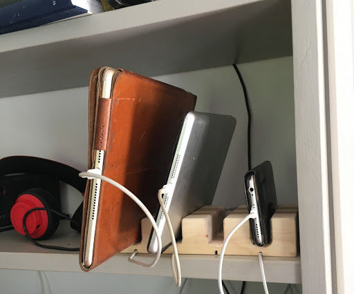 Charging Stand for Mobiles Etc.
