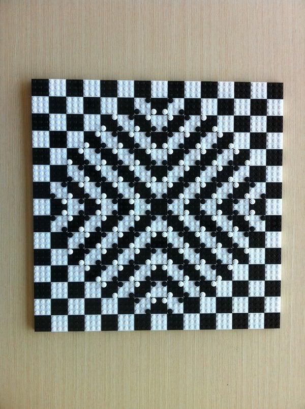 LEGO Optical Illusion Mosaic