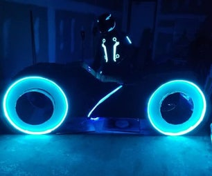 Tron Light Cycle...I Fight for the Users.