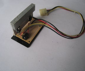 How to Make a CDROM Power Adapter