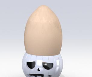 3d Printed Jack O' Egg Cup