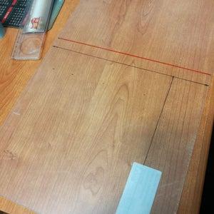 Cutting the Plexiglass Slabs