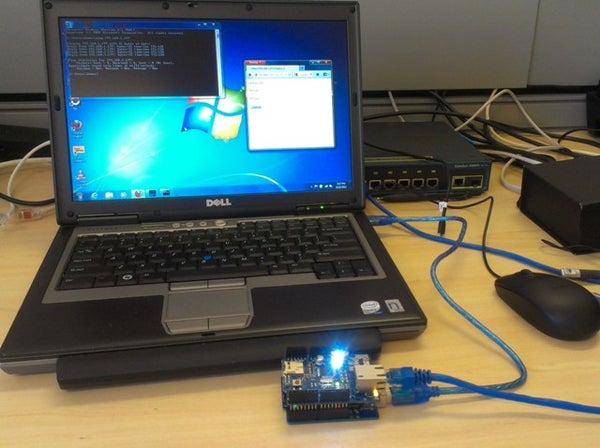 Arduino WebServer Controlled LED