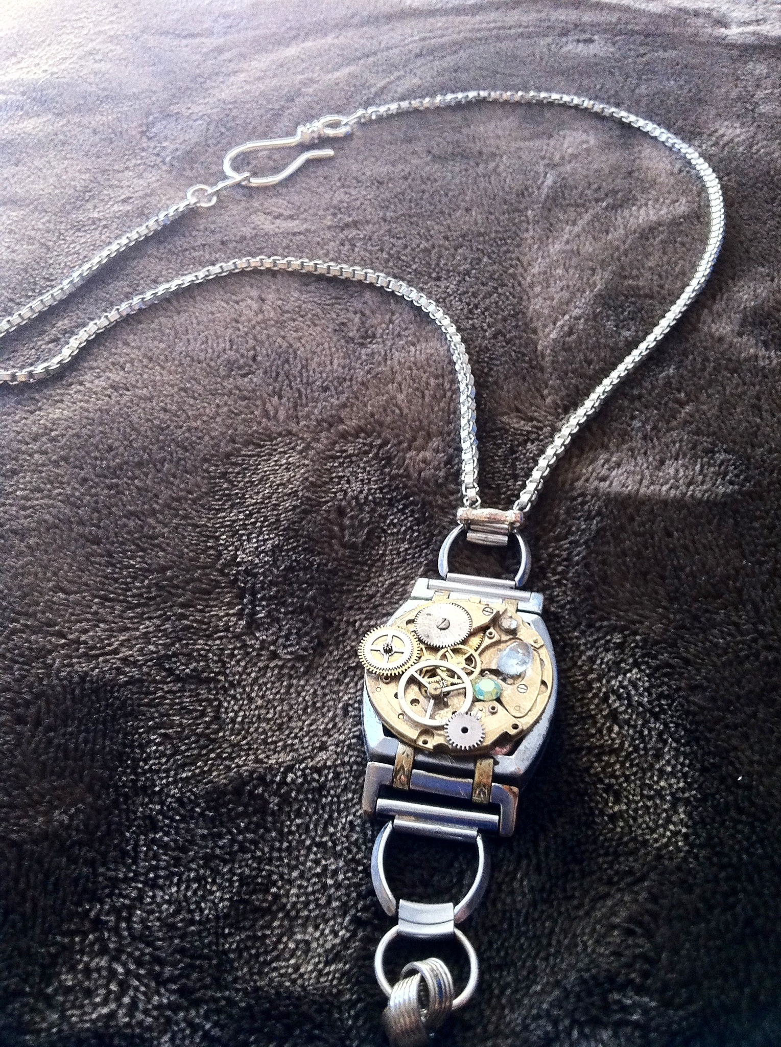 Steampunk Jewelry From Box Of Old Watches